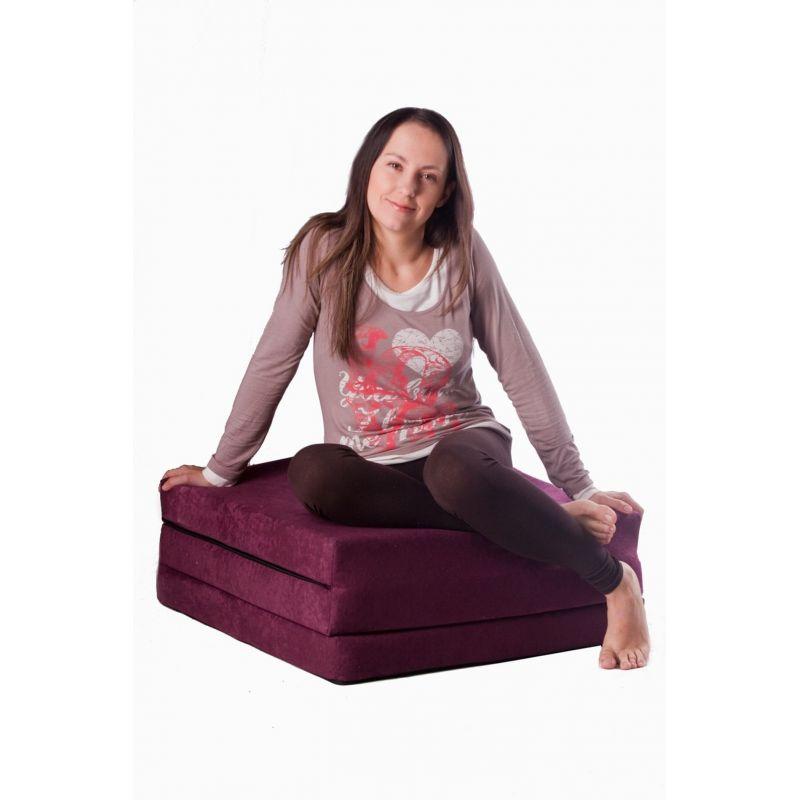 Matelas fauteuil pliant 160x60x12 cm - 1224
