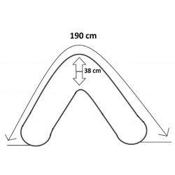 Coussin d'allaitement 190 cm – 003 EPS