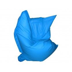 Pouf Relax POINT - bleu