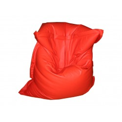 Pouf Relax POINT - rouge