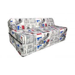 Matelas fauteuil pliant 160x60x12 cm -3100