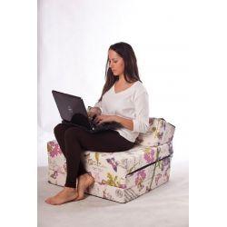 Housse pour pouf Relax POINT - blanc