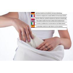 Housse pour pouf Relax POINT - rouge foncé