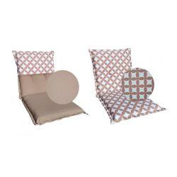 Coussins galettes de chaise 38x38x2 cm - 005
